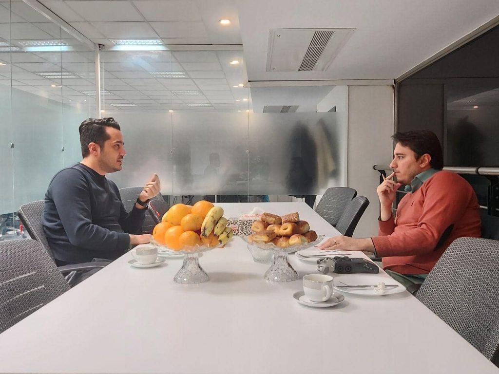مصاحبه حمیدرضا سلیمانی و احسان تاجیک